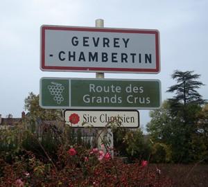 Duroche-Gevrey-Ortsschild-Cote-de-Nuits